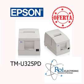 Impresora de Facturación Epson TM-U325PD  para Tickets (RE-MANUFACTURADO)