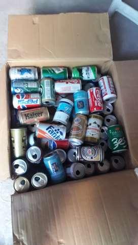 Vendo Colección de latas al mejor postor