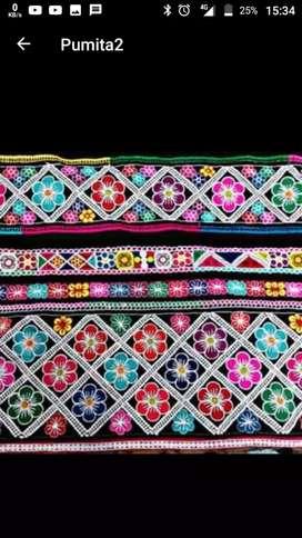 Trajes bordados típicos de la región Cusco