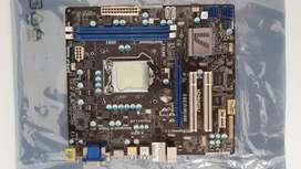 Mother ASrock H61M/U3S3 socket 1155 DDR3 Core i3/i5/i7 Impecable estado HardKonnen