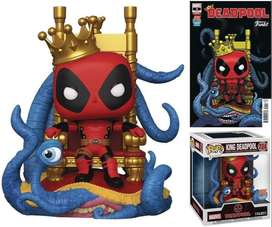 Funko Pop Deadpool Rey Exclusivo Marvel seis pulgadas
