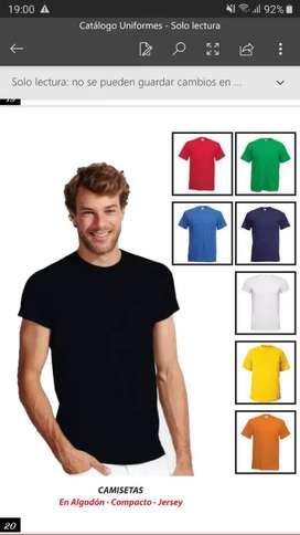 Remate de camisetas para trabajo  3x5