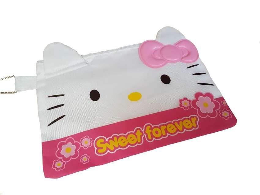 Cartuchera Esuche Hello Kitty Con División De Red Con Cierre 0