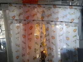 Cortina ventana cocina