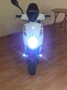 Moto proyecto con soat