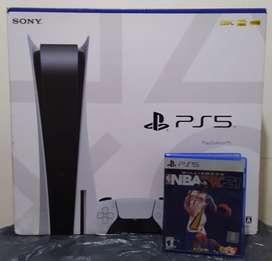 Playstation 5 Edición Disco + NBA 21