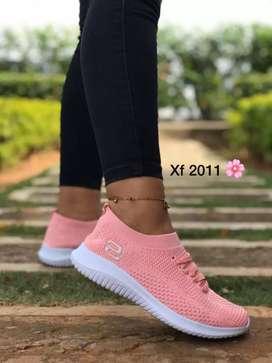 Zapato Tennis Deportivo Skecher Suela Ultraliviana Para Mujer