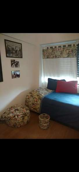 Acolchado+ almohadones + cortinas a juego!