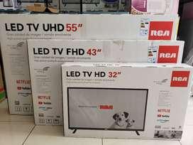 """Tv smart RCA de 55"""", 43"""", 32"""" Garantía de 2 años"""