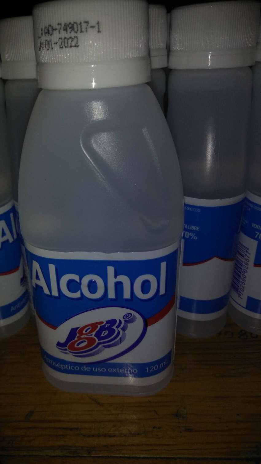 Alcohol antiséptico 0
