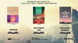 Pack 3 libros! Oferta!! Un vivir cristiano en los tiempos del fin- Amar la venida del Señor -Herederos de Dios.