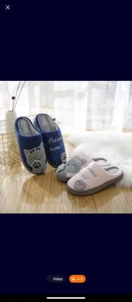 Pantuflas de gatitos