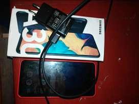 Vendo mi celular samsung A30 en perfecto estado con 4 meses de uso