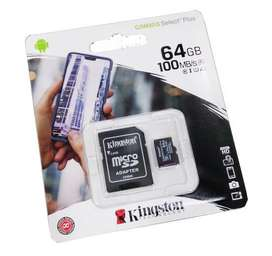 MICROSD CLASE 10 KINGSTON CANVAS HD 64GB