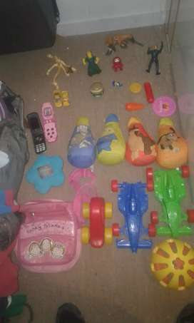 Vendo juguetes