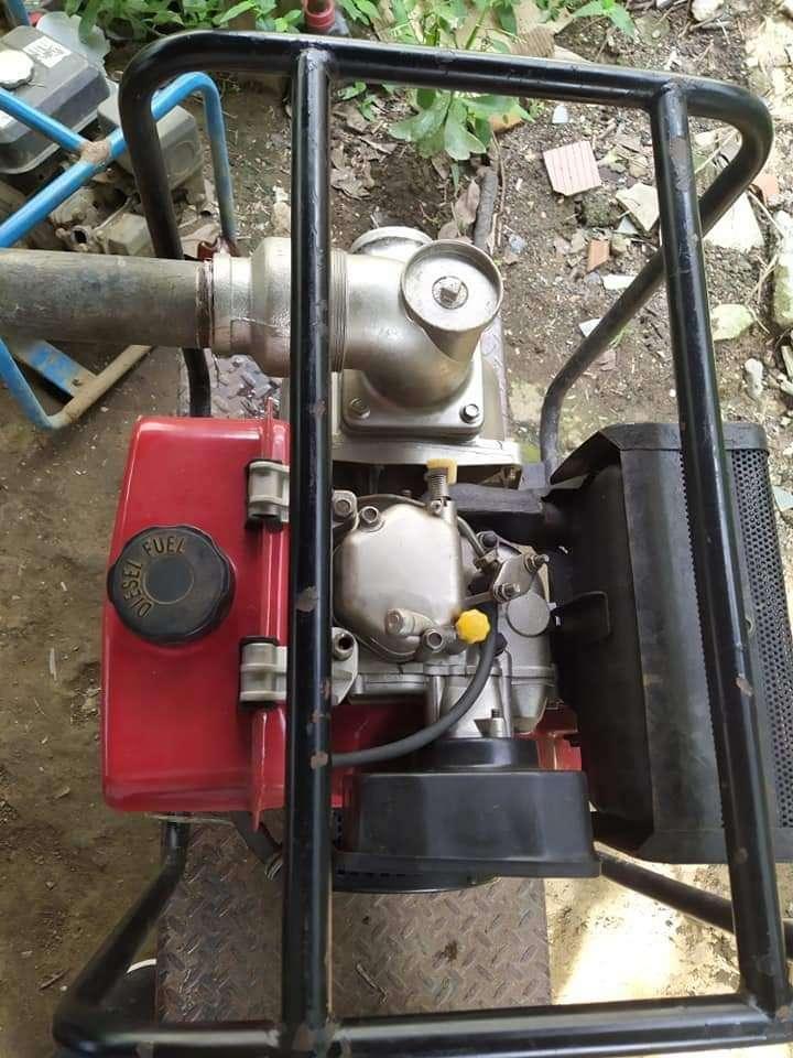 Motobomba Diesel de 7 caballos 0