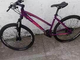Vendo bicicleta todo terreno dama.