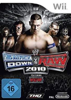 juego wii SMACKDOWN VS RAW 2010