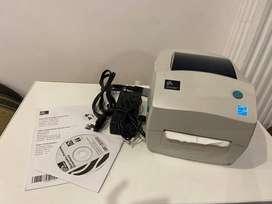 impresora de etiquetas y código de barras zebra GC420T