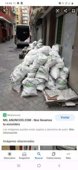 Pedestales Escombro PVC Tierra Basuras general Sacamos