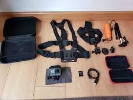 Combo Gopro Camera Extrema GoPro Hero 5 Black + accesorios