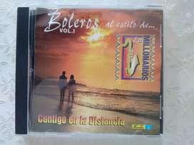CD musical de BOLEROS
