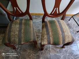 Lavado de sillas de comedor