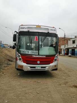 Bus IVECO - Marcopolo - Año 2009 - Color Marrón/Narj.