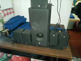 Sub woofer amplificado yamaha 5.1