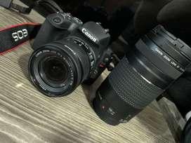 Vendo cámara y lente a excelente estado y precio $$