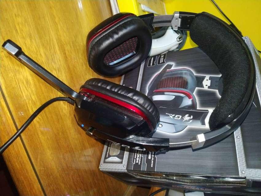 Auriculares Gx Gaming Cavimanus 7.1 0