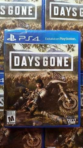 Days Gone Ps4 Nuevo Sellado Stock