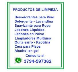 PRODUCTOS DE LIMPIEZA SUELTOS