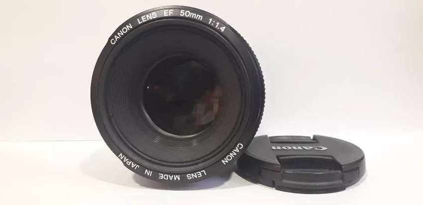Canon Lente EF 50mm 1:1.4 0