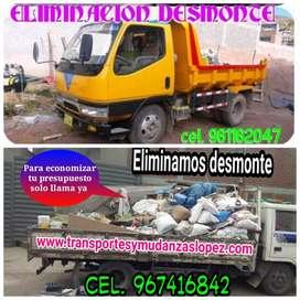 ELIMINACION DE DESMONTE Y RECOJO DESUSO DEL HOGAR