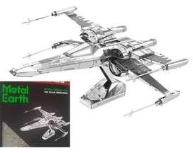 Modelo Corte Láser Fascinations Metal Earth Star Wars Poe Dameron Wind Figther