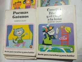 Conejita Blanca Y El Viaje A La Luna y Poemas Gatunos - Eugenia Calny