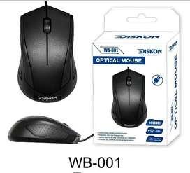 Mouse Optico Usb Diskon