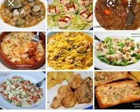 Se hacen comidas para fiestas especiales y eventos