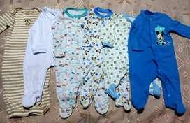 Lote de pijamas para bebe 0 a 3 meses