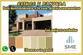 Pintura de oficinas, edificios, casas y departamentos.