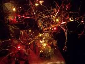 Vendo hermoso arbolito de navidad de mesa, hecho a mano