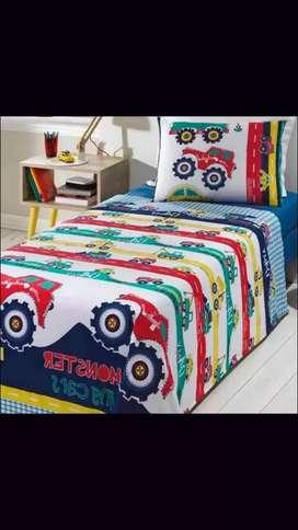 Juego de sábanas 100% algodón