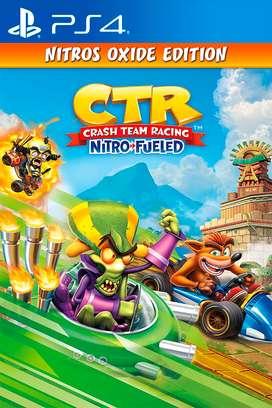 Crash Team Racing - Edición Nitros Oxide - Ps4