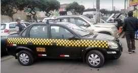 Venta de taxi con SETAME