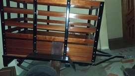 Carrocería estacas de madera/Tipo carruaje