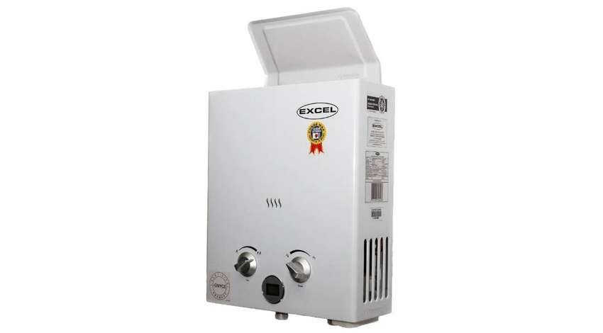 Calentador De Paso Excel 5.5L Gas Domiciliario. 0