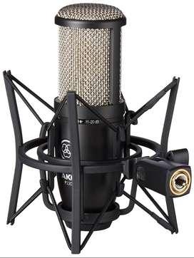 Micrófono AKG P220 - CONDENSADOR DE ESTUDIO