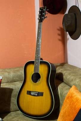 Espectacular Guitarra Folk marca Stingrey