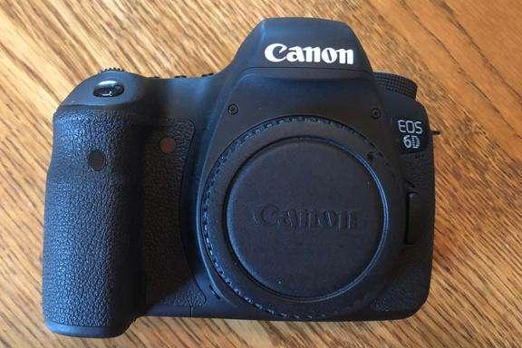 Canon Eos 6D Cuerpo 0